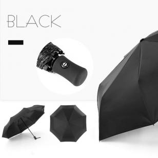 ร่มพับ Auto 8K Black Gel