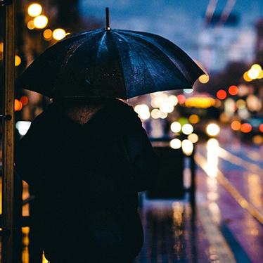 การใช้ร่ม